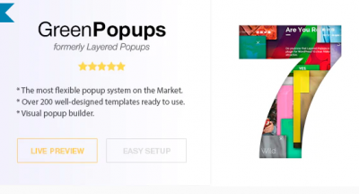 Popup Plugin for WordPress - Green Popups (formerly Layered Popups)