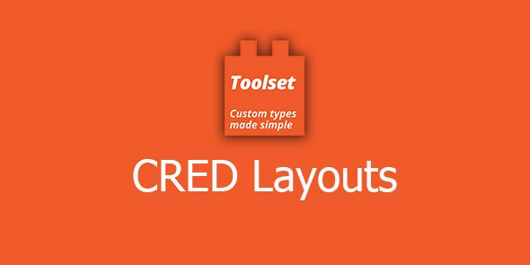 Toolset CRED Layouts