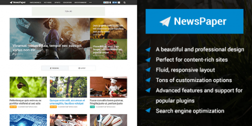MyThemeShop NewsPaper WordPress Theme 3
