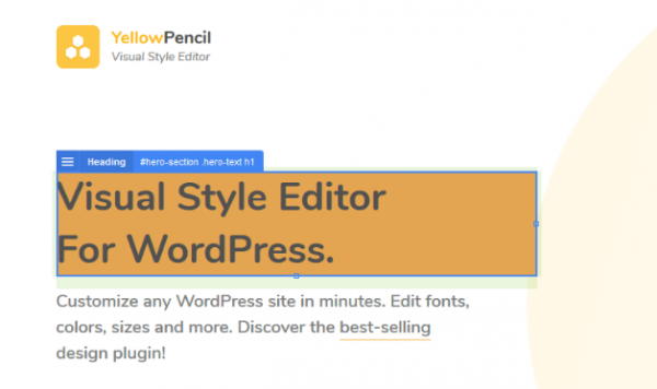 YellowPencil - Visual CSS Style Editor