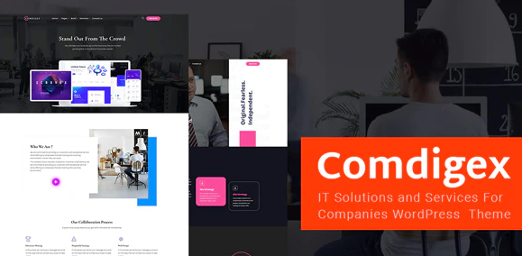Comdigex IT Solutions and Services Company WP Theme